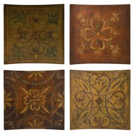 Tile Wall Decor Set
