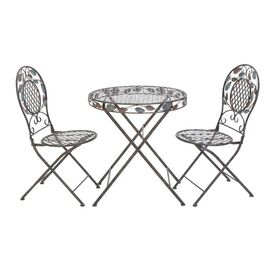 3-Piece Feuilles Bistro Set