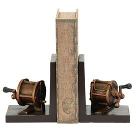 Fishing Reel Bookend