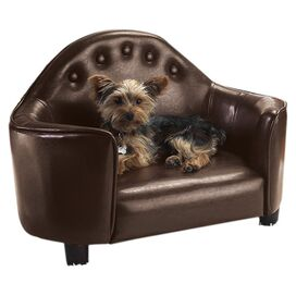 Rocky Pet Bed in Brown
