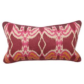 Bohemian Ikat Pillow