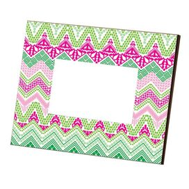Pearla Picture Frame in Hot Pink