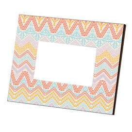 Pearla Picture Frame in Coral