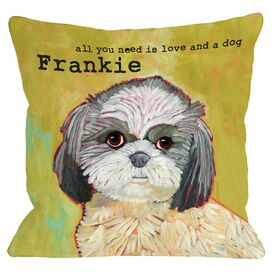 Personalized Shih Tzu Pillow