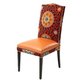 Gabrielle Side Chair in Rust