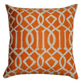 Edith Pillow in Orange