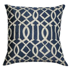 Edith Pillow in Blue