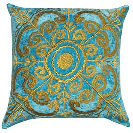 Sadie Pillow in Teal