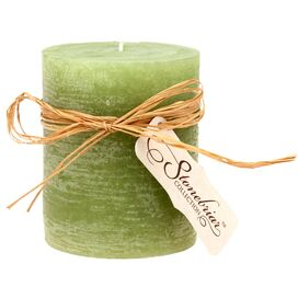 Stonebriar Pillar Candle in Olive