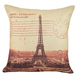 Eiffel Tower Pillow