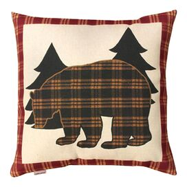 Bear Lodge Pillow