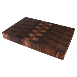 "Bryce Boards 18"" x 12"" Walnut End Grain Cutting Board"