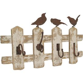 Fence Post Wall Hooks