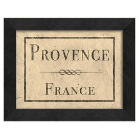 Provence France Framed Wall Art