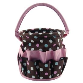 Large Polka Dots Organizing Bucket