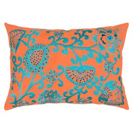 Idar Boudoir Pillow in Orange