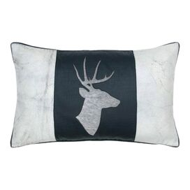 Stag Leather Pillow II