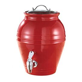 Honey Pot Beverage Dispenser in Cherry Drop