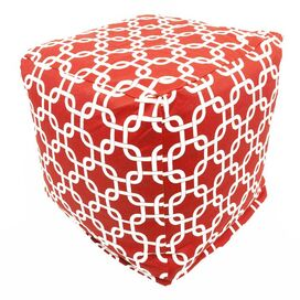 Links Cube in Red