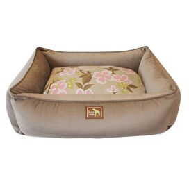 Luca For Dogs Meadow Lounge Bed in Coco