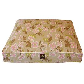 Luca For Dogs Meadow Rectangle Bed