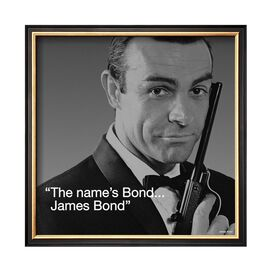 James Bond: Bond Framed Print - Art.com