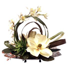Silk Orchid Arrangement I