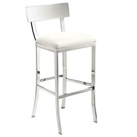 Maiden Barstool in White
