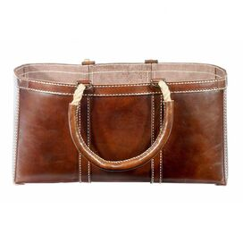 Adirondack Leather Log Bag