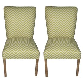 Julia Accent Chair in Citron