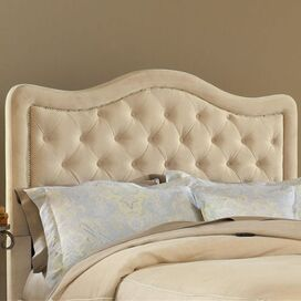 Trieste Queen Headboard in Buckwheat