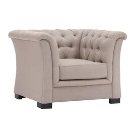 Nob Hill Arm Chair in Beige