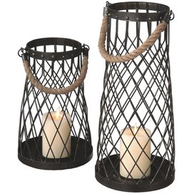 2-Piece Agoura Lantern Set