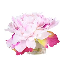 Faux Peony Arrangement in Pale Pink