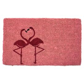 Flamingos Doormat