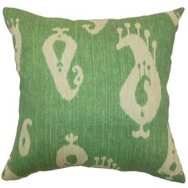 Ouda Pillow in Malachite Green