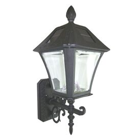 Baytown Wall Lantern in Black