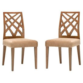 Marla Dining Chair in Brown