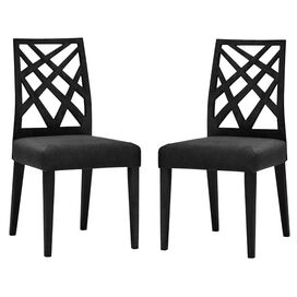 Marla Dining Chair in Black