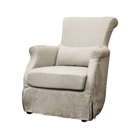 Baxton Studio Carradine Arm Chair