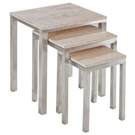 3 Piece Charleston Nesting Table Set