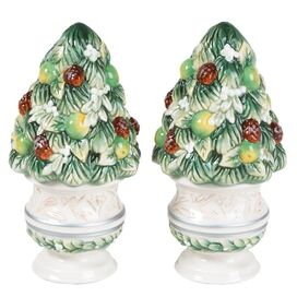 2 Piece Winter Garden Salt & Pepper Set