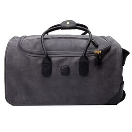 Small Life Rolling Duffle in Gray