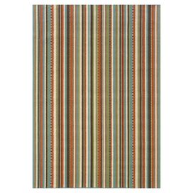 Sardinia Rug in Brown & Orange