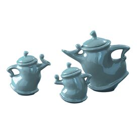 Howard Elliott 3 Piece Dancing Teapot Set