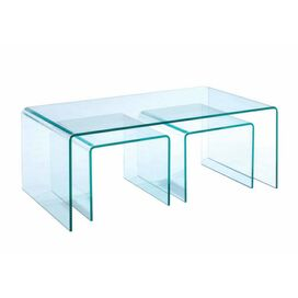 Magnussen 3 Piece Lumeno Nesting Table Set