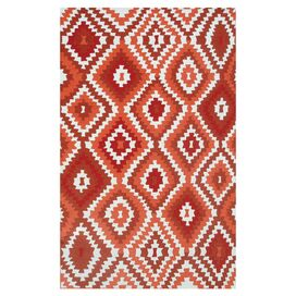 Navajo Rug in Red