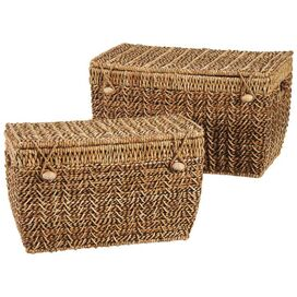 2 Piece Loue Nesting Trunk Set