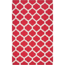 Casablanca Rug in Venetian Red
