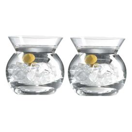 Rockwell Stemless Martini Glass